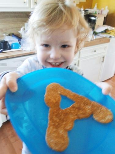 A pancake Ewan small